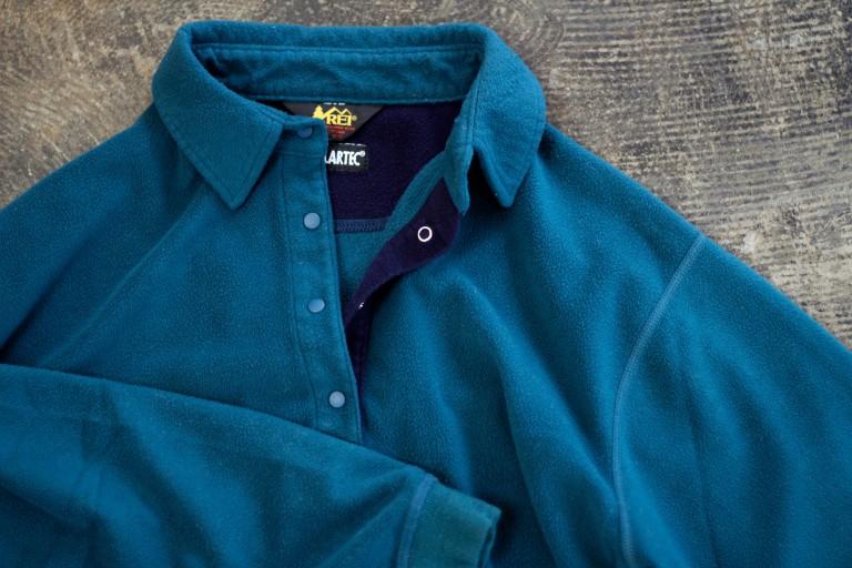 REI Snap Fleece Pullover Shirt