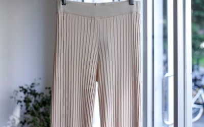 MNG Flare Pleated Pants