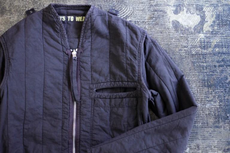 Maison Martin Margiela ⑥ '3 WAYS TO WEAR IT' Reversible Liner Jacket