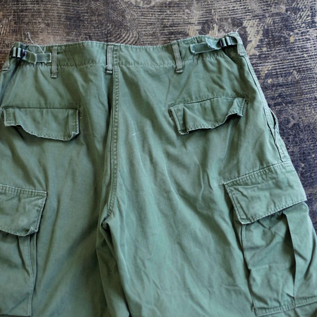 U.S. ARMY Vintage 60's Rip Stop Jungle Fatigue Pants