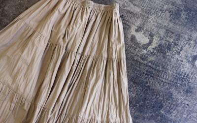 Rockmount Tiered Volume Long Skirt