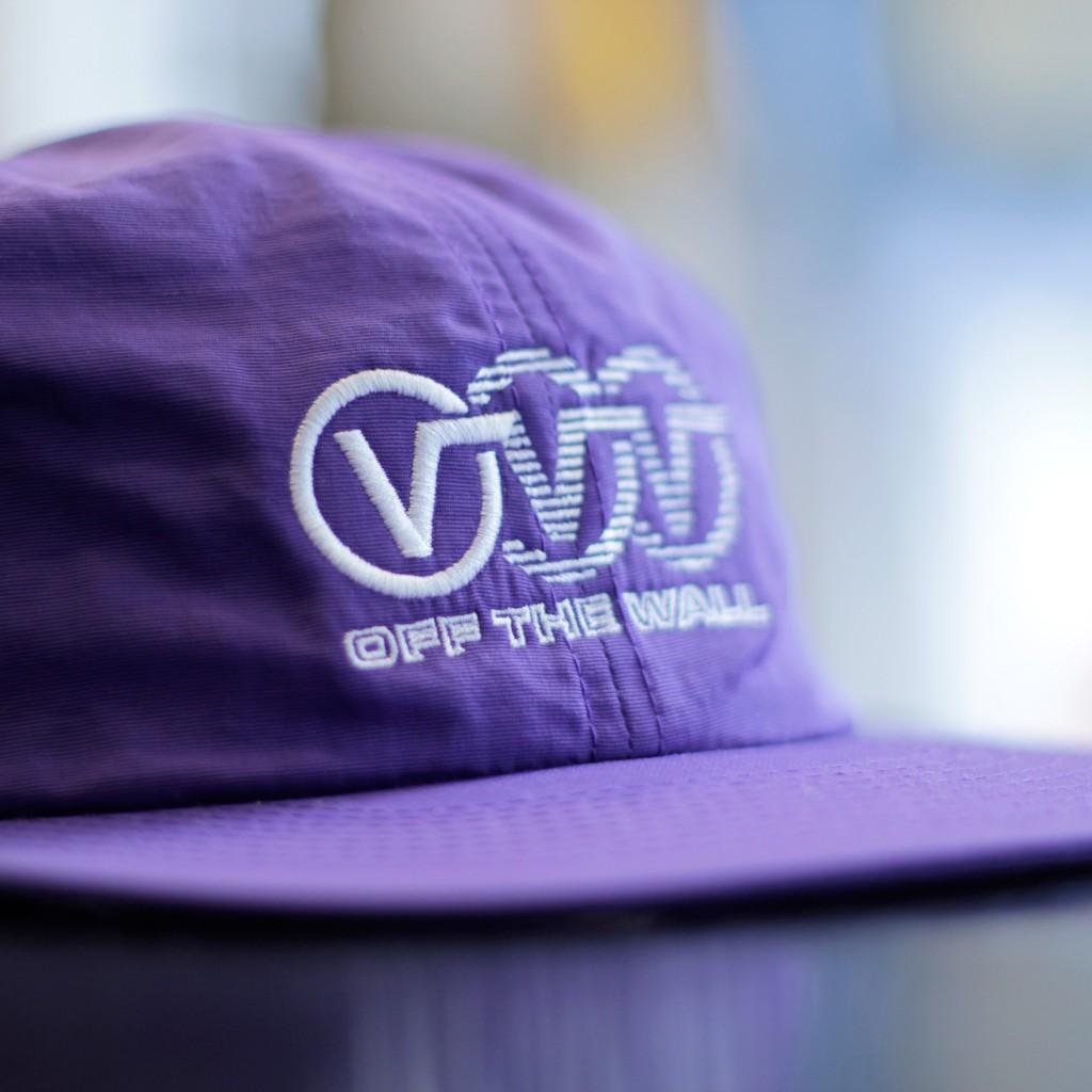 "VANS OF THE WALL ""V Logo"" Nylon Cap"