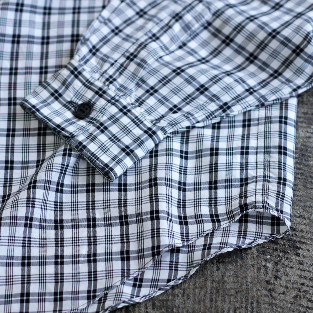 robe de chambre COMME des GARCONS Raylon Check Shirt