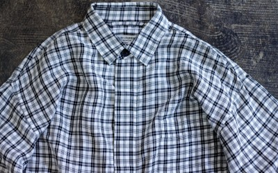 robe de chambre COMME des GARCONS Rayon Check Shirt