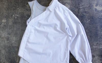 Jonathan Simkhai One Shoulder Stripe Shirt