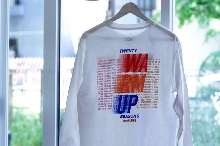 """KNOW WAVE × MoMA PS1 L/S T-Shirts """"Warm Up Radio"""""""