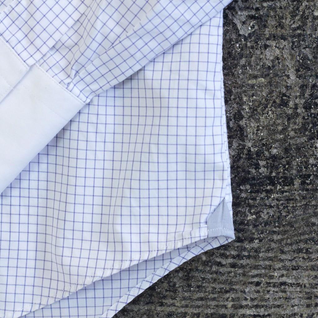 LANVIN Graph Check Shirt