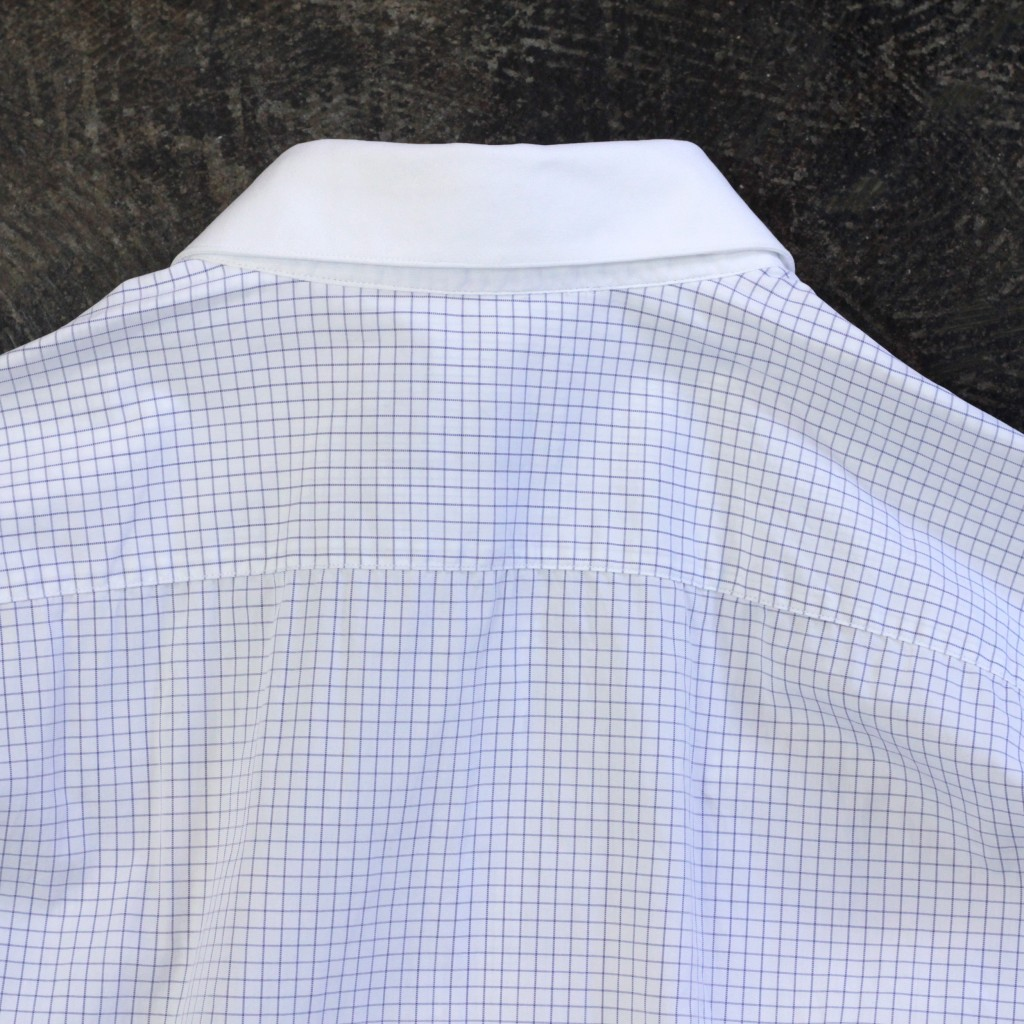 LANVIN Graph Check Shirt