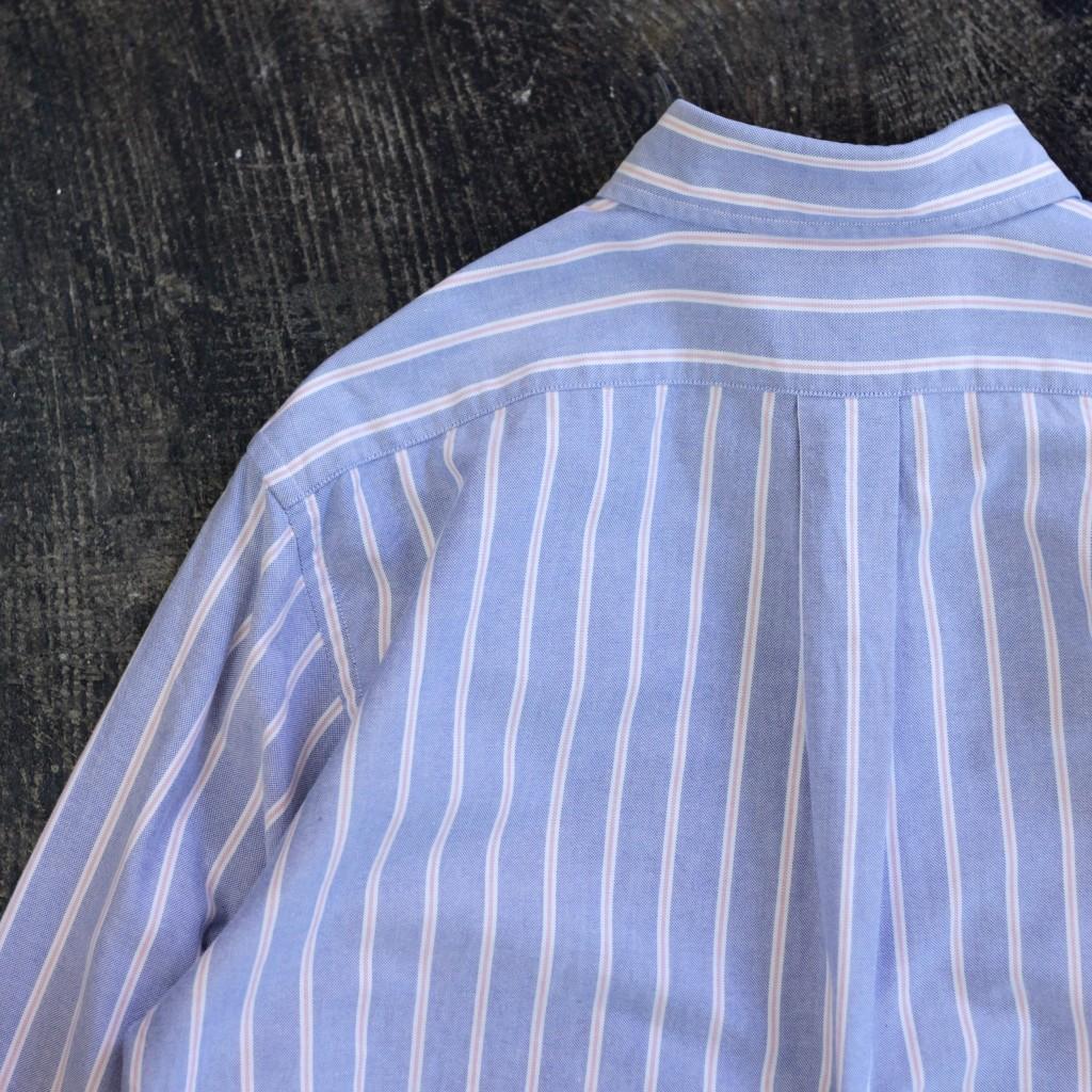 """L.L.Bean 80's Stripe Shirts """"Made in U.S.A"""""""