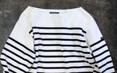 SAINT JAMES L/S Border T-Shirts
