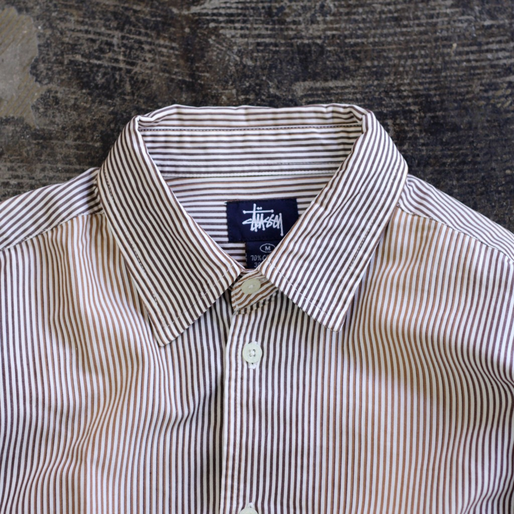 STUSSY Gradiation Stripe Shirt