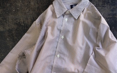 OLD STUSSY 90′s Gradation Stripe Shirt