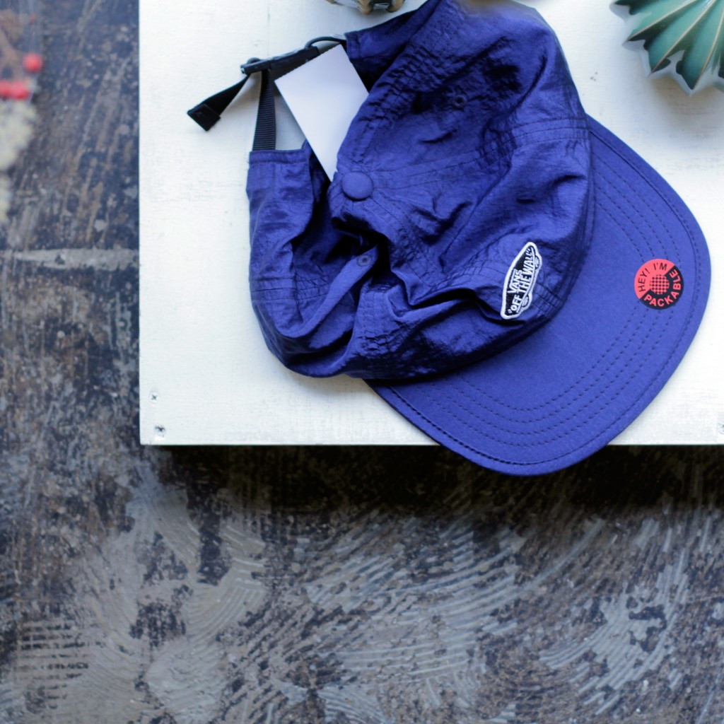 VANS OF THE WALL Packable Nylon cap