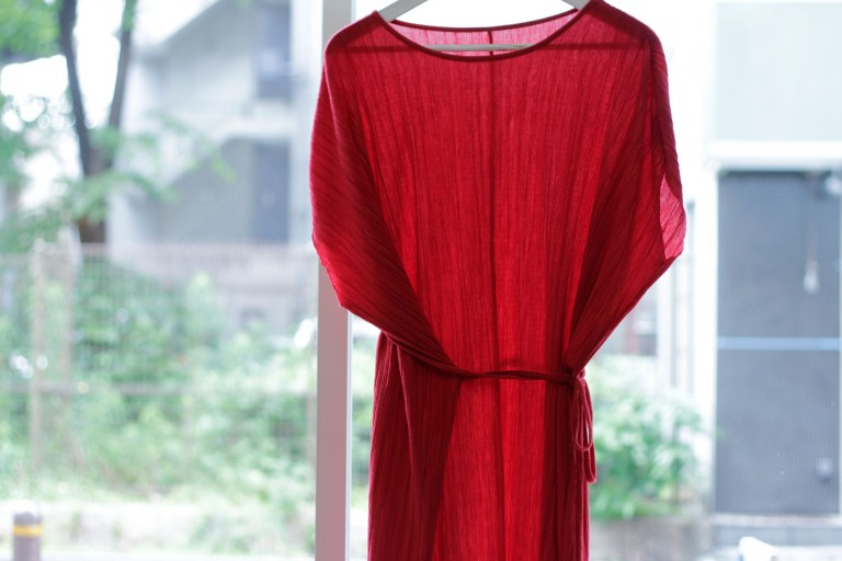 Long Cord Ribbed One Piece