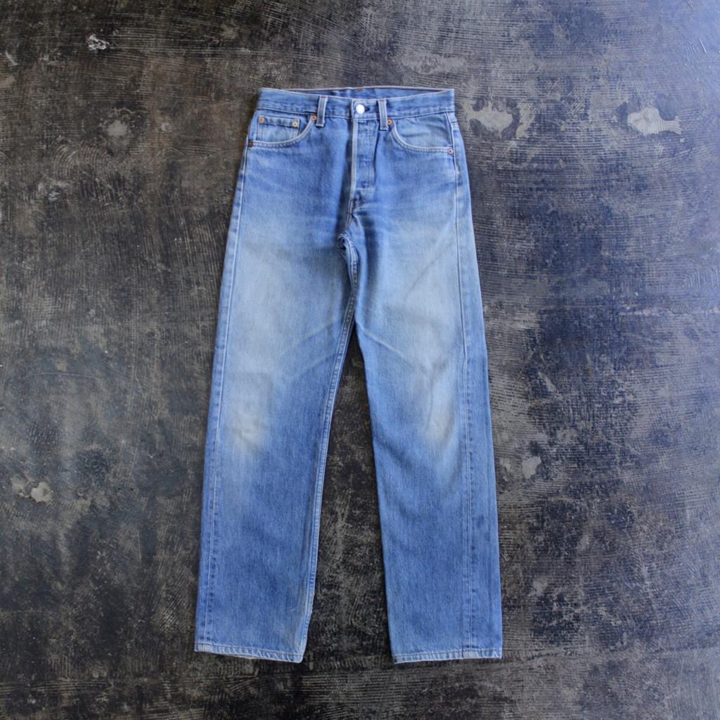Levi's 501 Blue Denim 'Made in U.S.A'