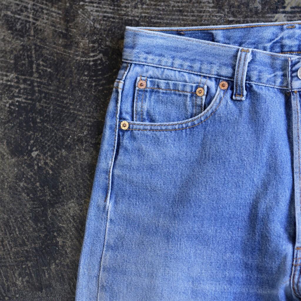 Levi's 501 Vintage Blue Denim 'Made in U.S.A'