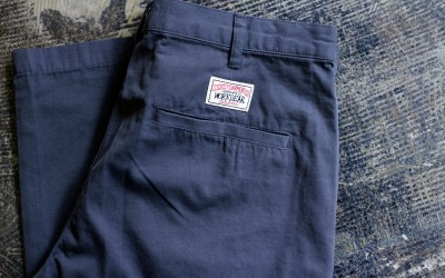 """STUSSY AUTHENTIC WORK GEAR """"Dead-Stock"""" Cotton Work Pants"""