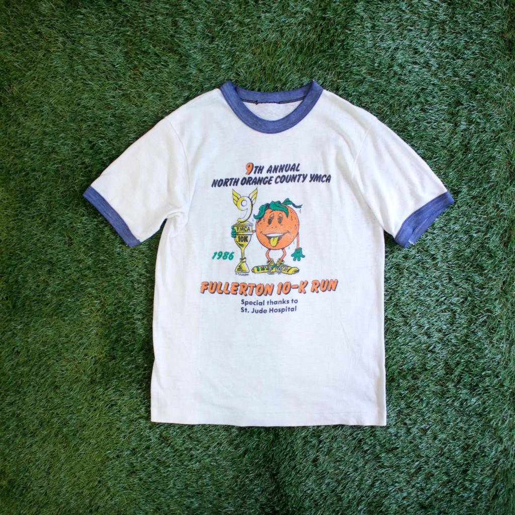 86's Orange Ringer T-Shirts