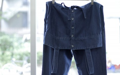A.P.C. Chambray Jumpsuits