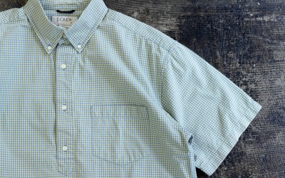 OLD J.CREW B.D. Check Pullover Shirt