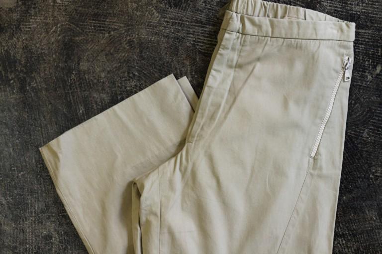 JIL SANDER Cotton Easy Pants