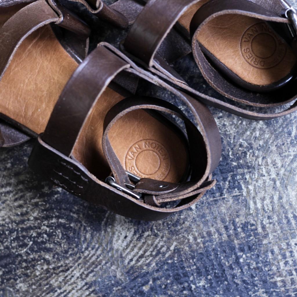 DRIES VAN NOTEN Leather Sandal