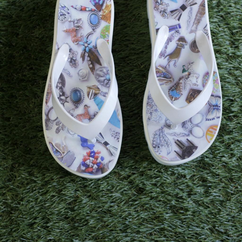 MM⑥ Jewelry Platform Sandal