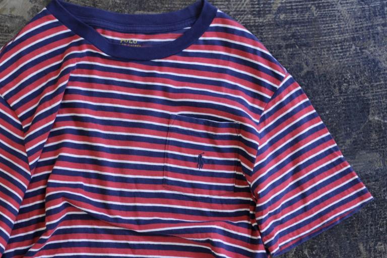 POLO Ralph Lauren S/S Border Pocket T-Shirts