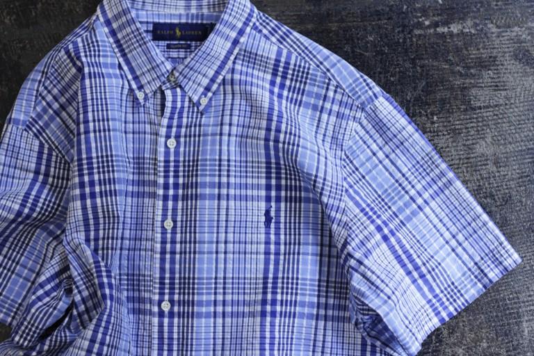 POLO RALPH LAUREN Seersucker Check Shirts