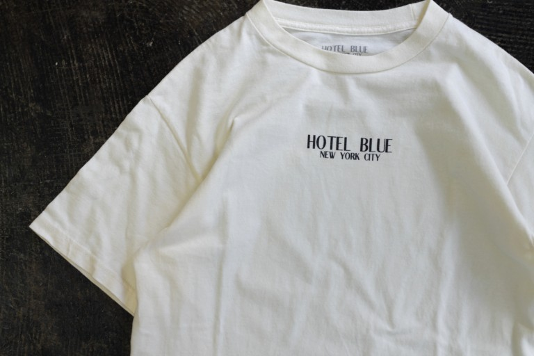 HOTEL BLUE S/S Logo T-Shirts