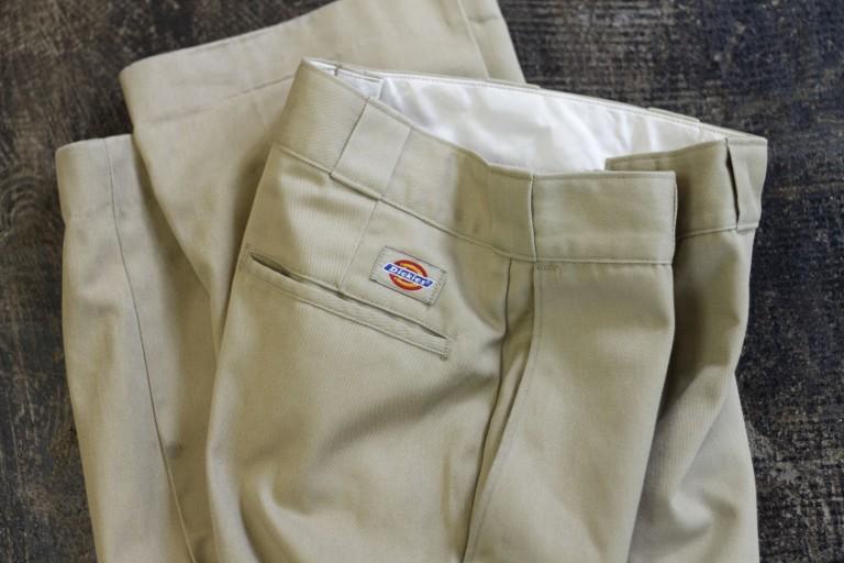 """Dickies 80′s 874 Work Pants """"Made in U.S.A Model"""""""
