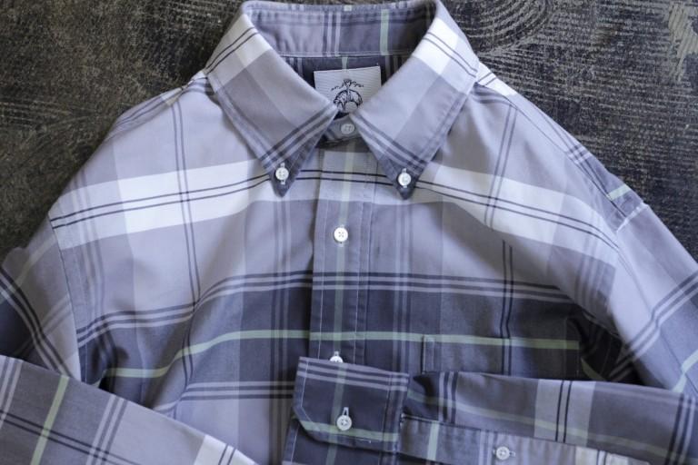 BLACK FLEECE by Brooks Brothers B.D. OX Ford Check Shirt