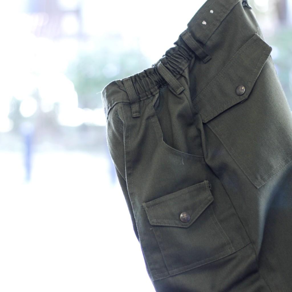 Vintage Military Boy Scout Bush Pants