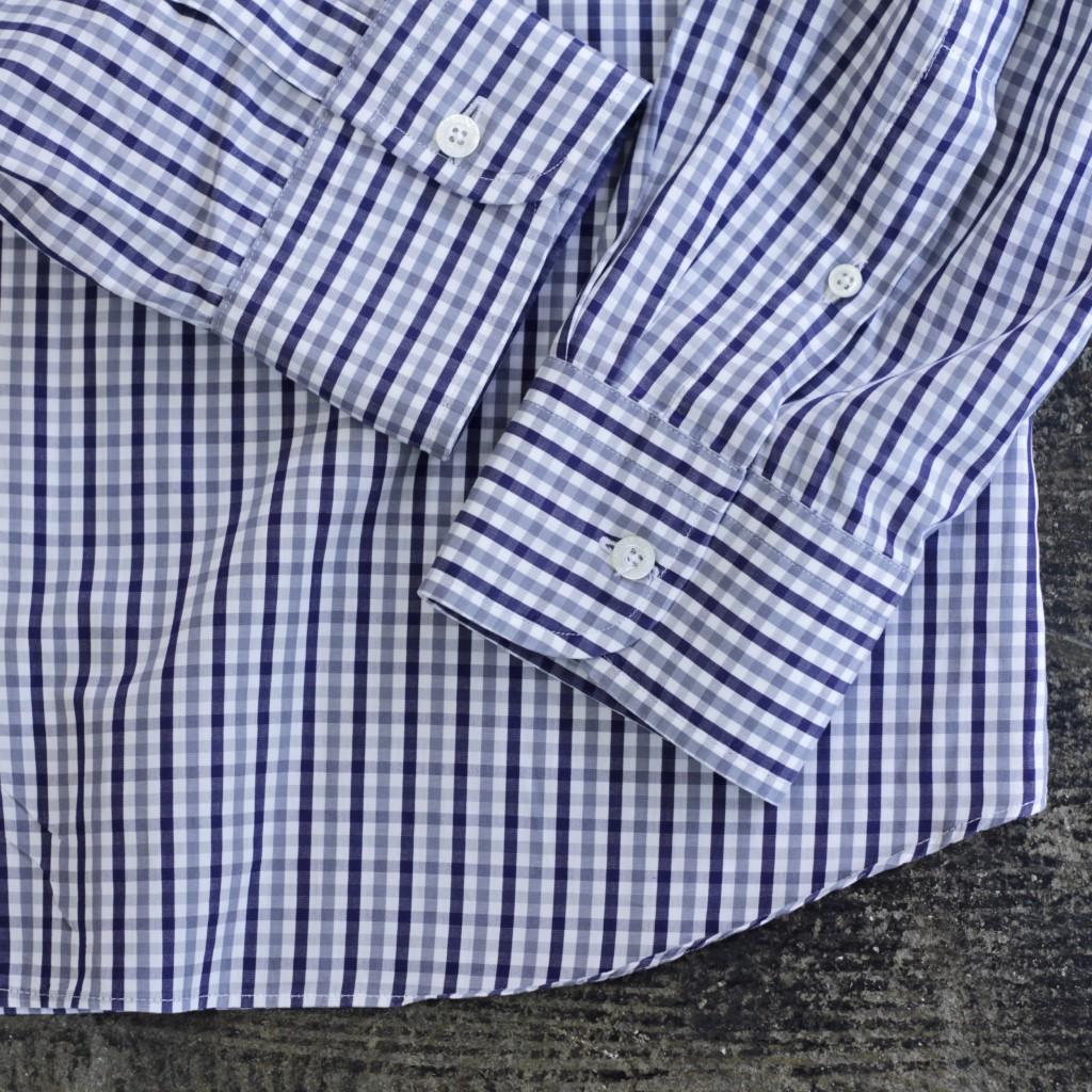 "TODD SNYDER × HAMILTON L/S Check Shirt ""Made in U.S.A"""