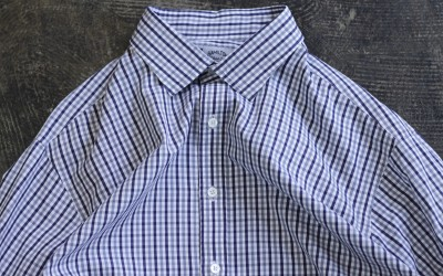 """TODD SNYDER × HAMILTON SHIRT CO. L/S Check Shirt """"Made in U.S.A"""""""