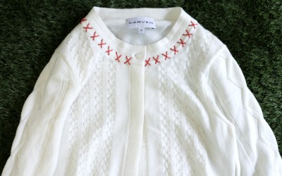 CARVEN Embroidery Cardigan