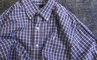 "POLO by Ralph Lauren 90's B.D. Check Shirts ""BLAKE"""