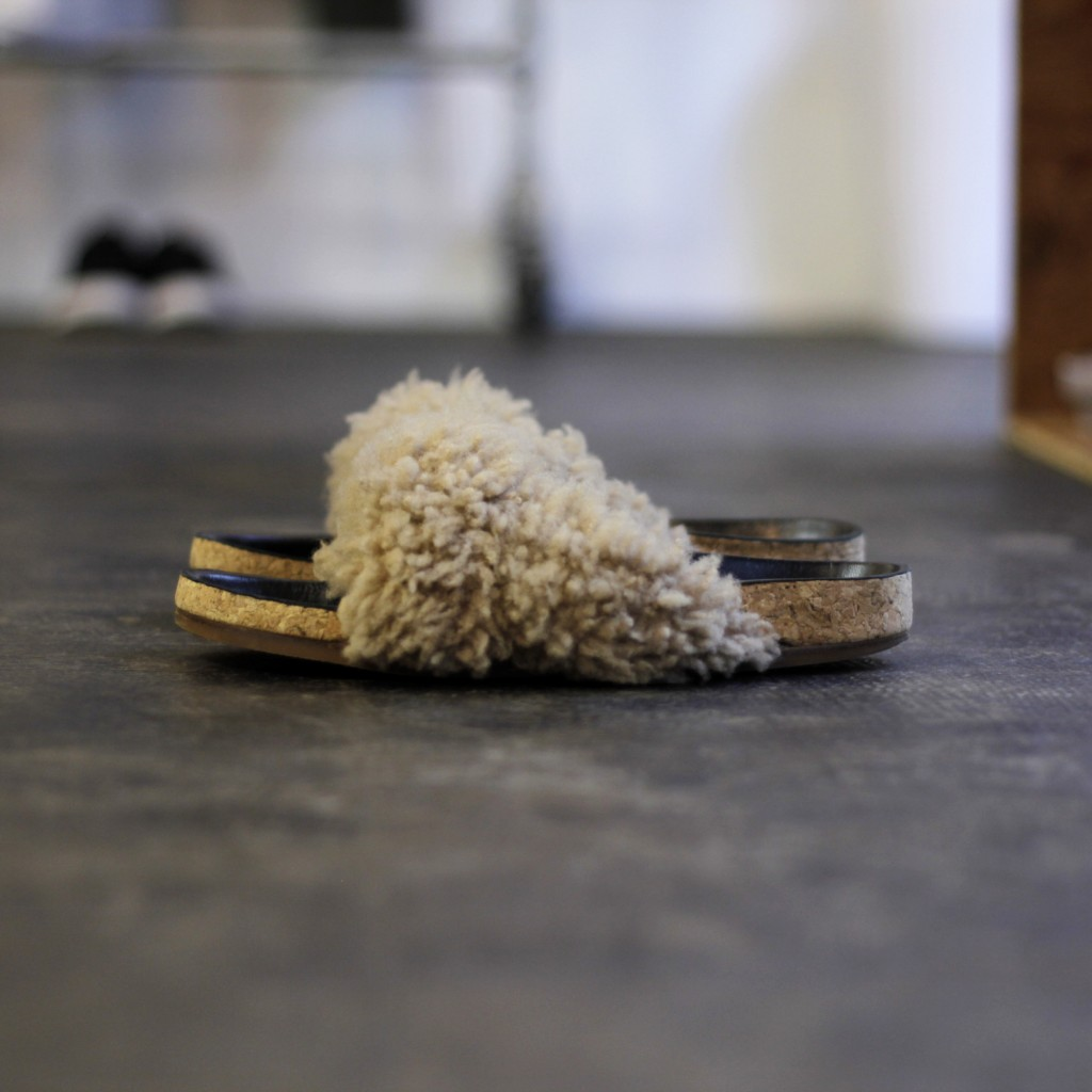 Chloe Fur shoes