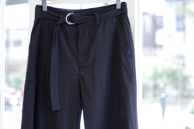 STUSSY Belted Wide Pants
