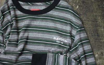 Supreme Classic Logo Border T-Shirts