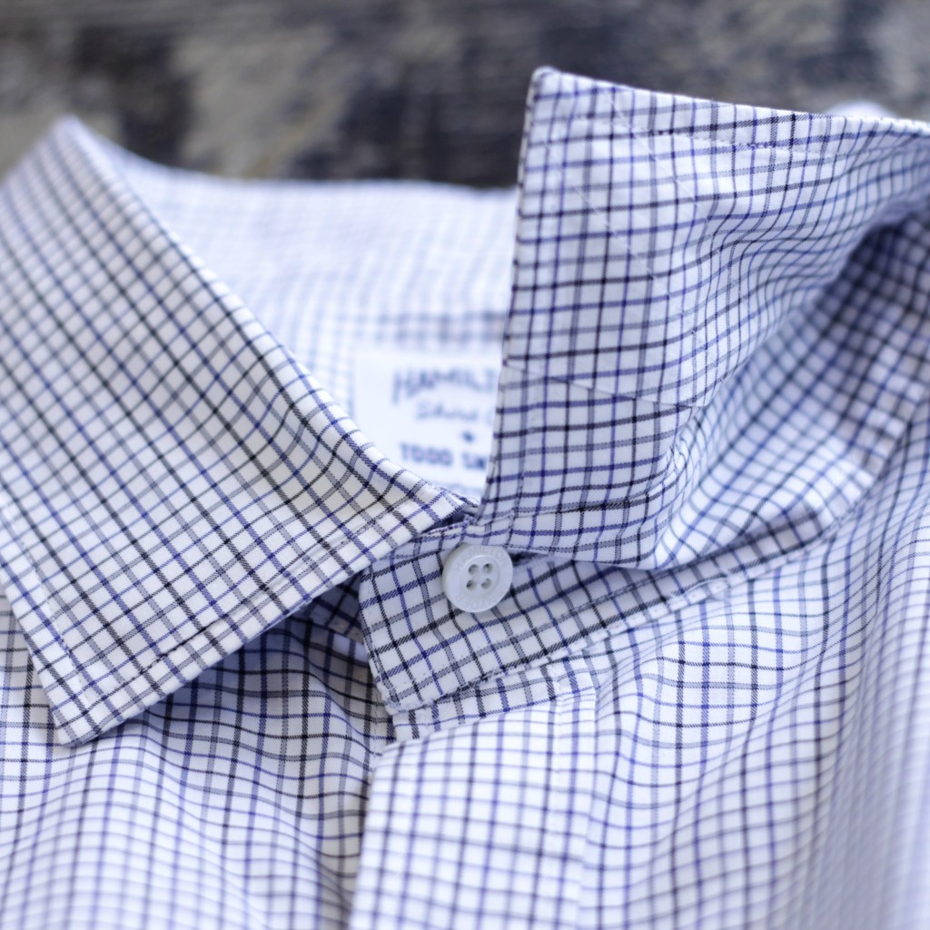 TODD SNYDER × HAMILTON SHIRT CO. L/S Check Shirt