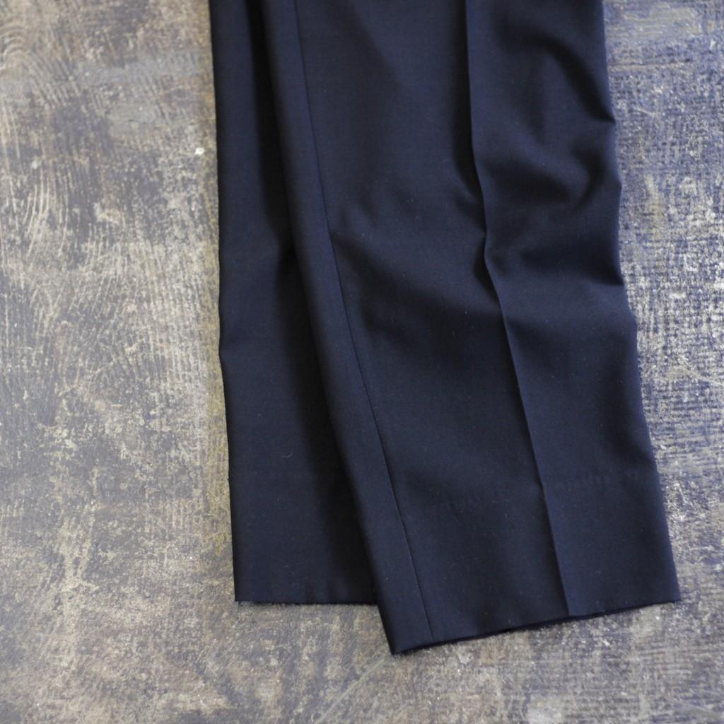 YVES SAINT LAUREN 90's Center Press Tuck Wool Slacks
